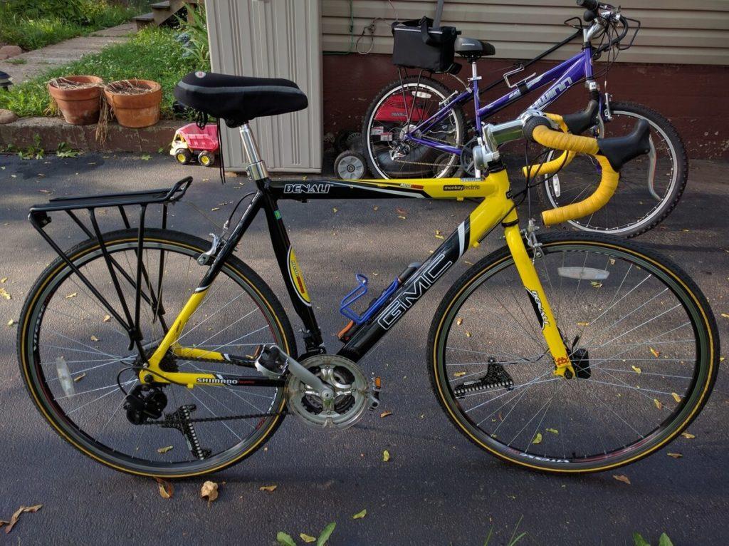 GMC Denali Yellow road bike