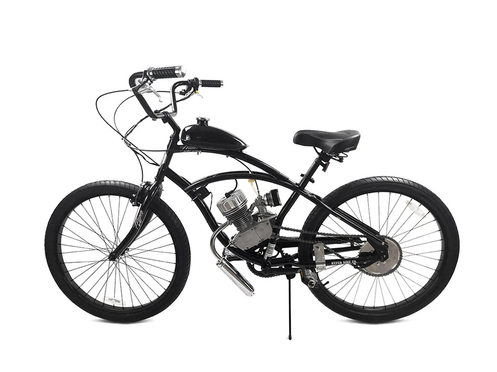 GT6 Pro Racing 66cc/80cc Motorized Bicycle
